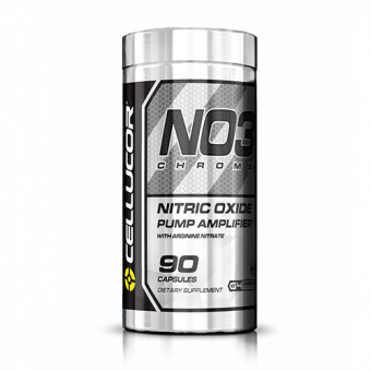Cellucor NO3 Chrome Nitric Oxide Pump Amplifier - 90 Capsules