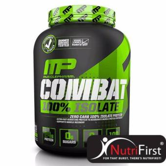 Combat 100% Isolate (5 Lbs) 84 Servings Chocolate Milk