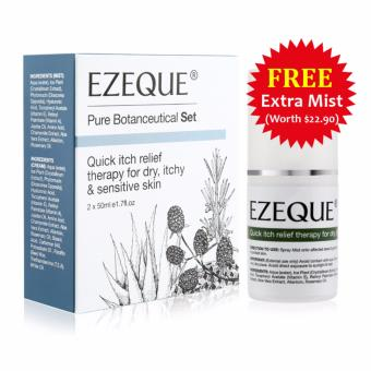 Harga EZEQUE Eczema Fast Itch Relief Therapy