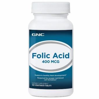 GNC Folic Acid 400 (100 Tablets)