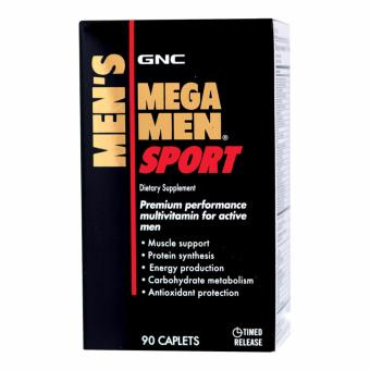 Harga GNC Mega Men Sport Timed-Released (90 Caplets)