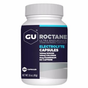 GU Roctane Electrolyte Capsules 100 Caps With Free Gift