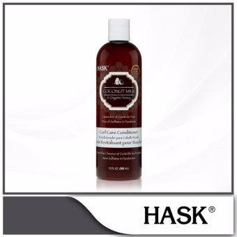 Harga Hask Coconut Milk & Organic Honey Curl Care Conditioner 355ml