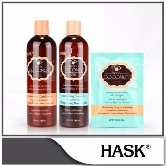 Harga Hask Monoi Oil Nourishing Hair Care Set