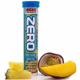 High5 Zero Electrolyte Drink Tropical 3 Tubes 60 Tablets With Free Gift