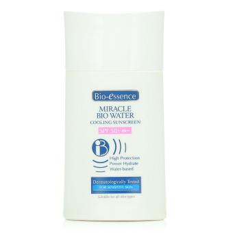 Harga Bio-essence Miracle Bio Water Cooling Sunscreen SPF 50 40ml