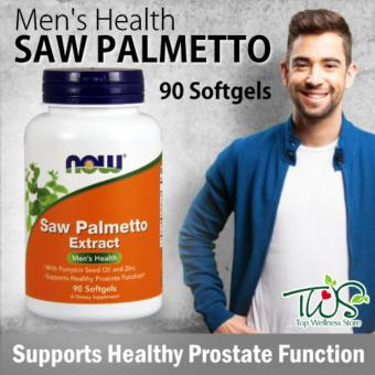 Harga Now Foods, Saw Palmetto Extract, 90 Softgels