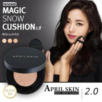 Harga April Skin Magic Snow Cushion 2.0 Ver Black #22 Pink Beige