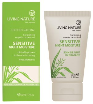 Harga Living Nature Sensitive Night Moisture (for Sensitive Skin) - 50ml