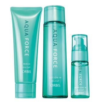 Harga [Value Pack] Aqua Force Wash + Lotion + Moisture (M)