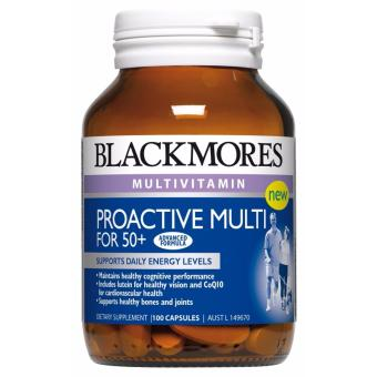 Harga Blackmores Proactive Multi for 50+ 100 Capsules