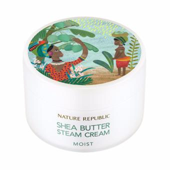 Harga Nature Republic Shea Butter Steam Cream - Moist 100ml