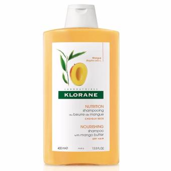 Harga Klorane Dry Hair Nourishing Shampoo With Mango 400ml