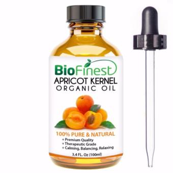 Biofinest Apricot Kernel Organic Oil (100% Pure Organic Carrier Oil) 100ml