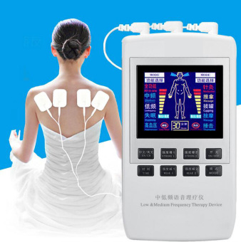 Harga TENS UNIT/Dual channel output TENS EMS pain relief/Electrical nerve muscle stimulator/Digital therapy massager/Physiotherapy - intl