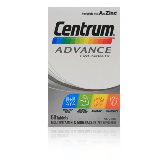 Harga Centrum Advance Tabs 60's