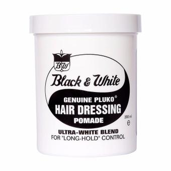Harga Black & White Hair Dressing Pomade