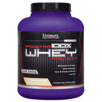 Harga Ultimate Nutrition Prostar 100% Whey Protein Chocolate Creme 2 Lbs With Free Gift