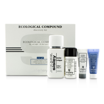 Harga Sisley Ecological Compound Discovery Kit:Ecological Compound Day & Night 50ml, Global Perfect 10ml, Express Flower Gel 10ml... 4pcs