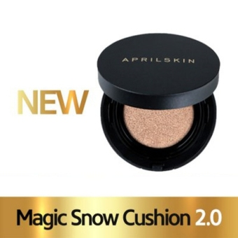 Harga April Skin Renewal Black Magic Snow Cushion 2.0 No.21 Light Beige