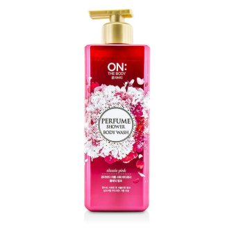 Harga On The Body Body Wash Perfume Shower (Pink) 500ml