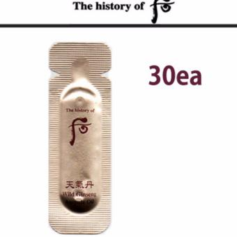 Harga The History of Whoo Wild Ginseng Ampoule oil 100% Authentic 1ml x 30