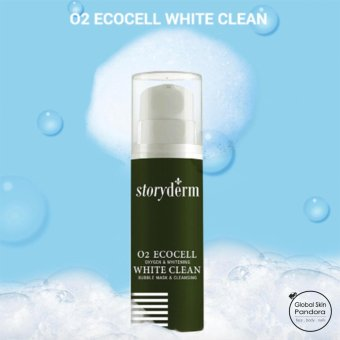 Harga Storyderm ECOCELL White Clean Bubble Mask & Cleanser