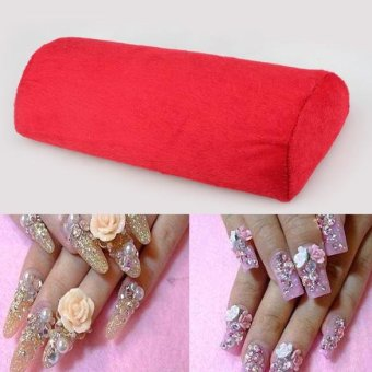 Harga New Soft Hand Cushion Pillow Rest Nail Art DIY anicure Art Salon - intl