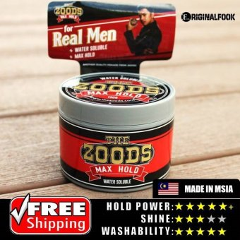 Harga Zoods Max Hold Water Based Pomade 130g