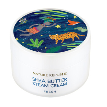 Harga Nature Republic Shea Butter Steam Cream_Fresh 100ml