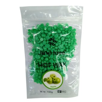 100g Multi Flavor Depilatory Pearl Hard Wax / Brazilian Granules Hot Film Wax Bead for Painless Hair Removal - intl