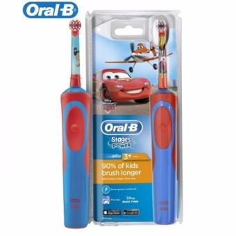 Harga Oral-B Stages Power Disney CARS Electric Rechargeable Kids Toothbrush