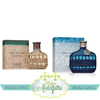 Harga John Varvatos Artisan Acqua EDT Men 125ml & John Varvatos Artisan Blu EDT Men 125ml