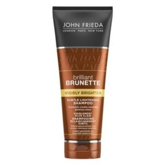 Harga JOHN FRIEDA Brilliant BrunetteVisibly Brighter Shampoo 250ml