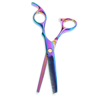 "Harga 6"" Professional Hair Cutting + Thinning Scissors Barber Shears Hairdressing Set - intl"