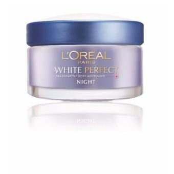 Harga L'Oreal Paris White Perfect Night Cream
