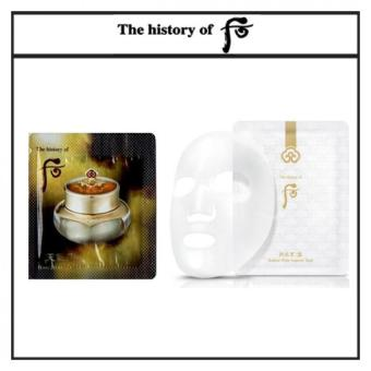 Harga The History of Whoo Cheongidan Hwa Hyun Cream 1ml x 30pcs(Free sample) + The History of Whoo Gongjinhyang Seol Radiant White Ampoule Mask 25g