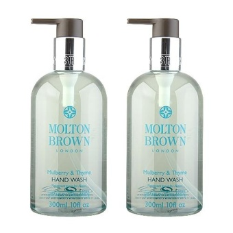 Harga 2 x Molton Brown Hand Wash 10oz, 300ml Mulberry & Thyme - intl