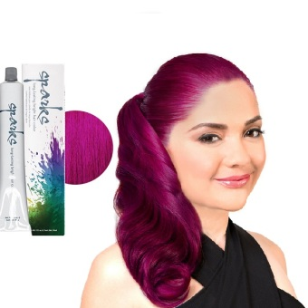 Harga Sparks Hair Dye (Rad Raspberry)