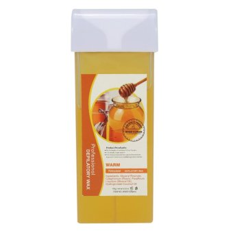 100g Professional Depilatory Wax Arm Leg Underarm Body Hair Removal(Honey) - intl