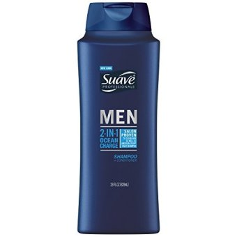 Harga Suave Professionals Men Ocean Charge 2-in-1 Shampoo + Conditioner, 28 Fl oz - intl