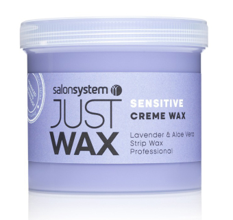 Harga Salon System Just Wax Sensitive Creme Wax - 450g
