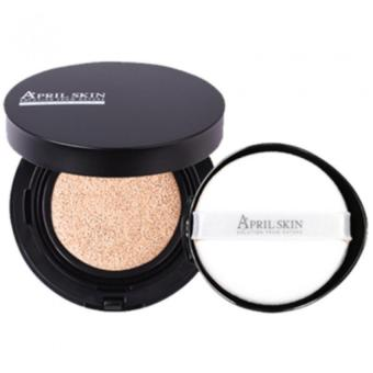 Harga April Skin Magic Snow Cushion Black #23 Natural Beige - 15g