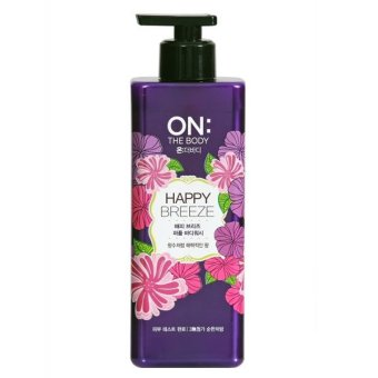 Harga ON THE BODY Happy Breeze Body Wash 500g