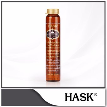 Harga HASK Macadamia Oil Revitalizing Shine Hair Treatment Vial 18ml
