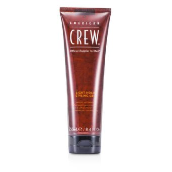 Harga American Crew Men Light Hold Styling Gel (Non-Flaking Gel) 250ml/8.4oz (EXPORT)