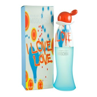 Harga Moschino I Love Love EDT Women 30ml + Free SD Perfume $5 Voucher