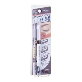Harga SANA New Born W Multifunctional Eyebrow Pencil B10 (Royal Brown)