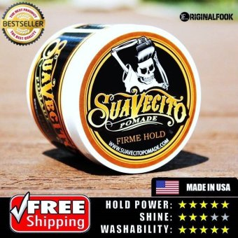 Harga Suavecito Firm Strong Hold Water Based Pomade