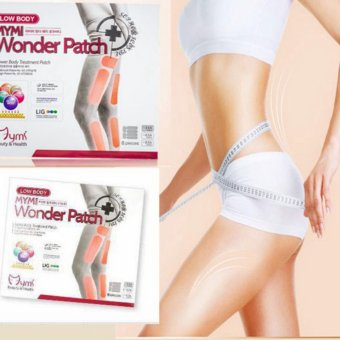 Harga 18pcs/Pack MYMI Wonder Slim Patch for Slimming Belly Arm Leg Weight Lose Yellow & Pink - intl